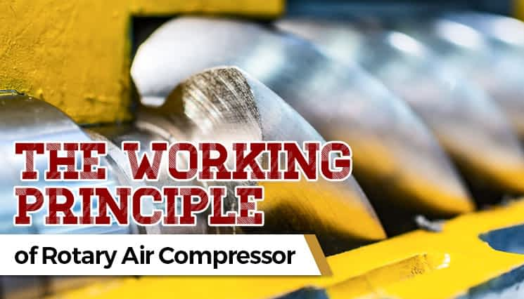 The Working Principle of Rotary Air Compressor