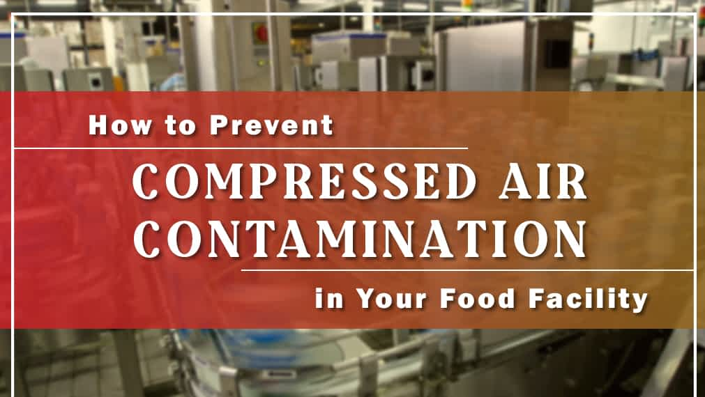How to Prevent Compressed Air Contamination in Your Food Facility