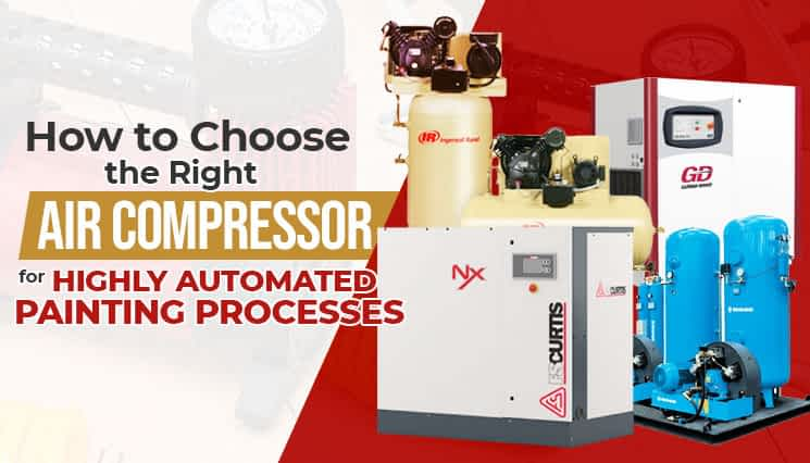 How to Choose the Right Air Compressor for Highly Automated Painting Processes