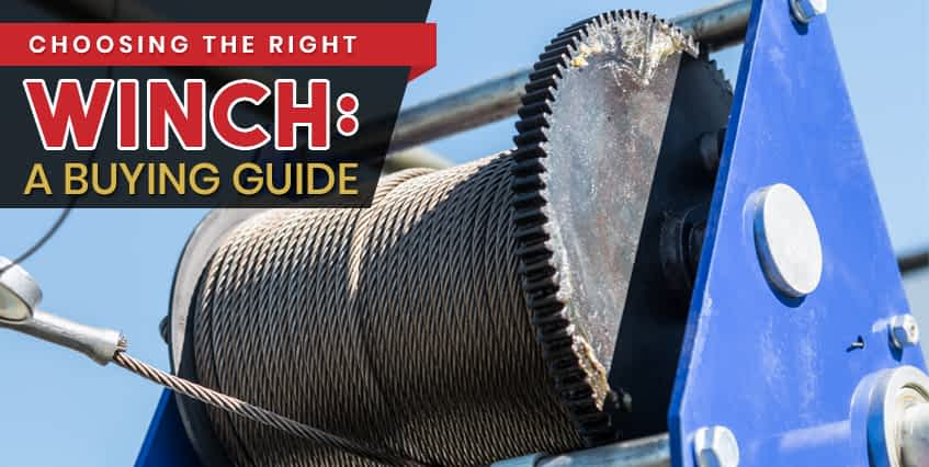 Choosing the Right Winch A Buying Guide-Featured